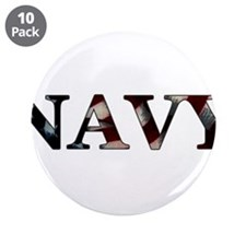 """NAVY_flag copy.png 3.5"""" Button (10 pack)"""