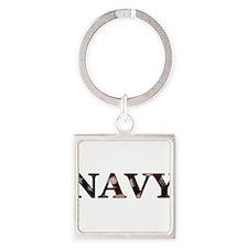 NAVY_flag copy Keychains