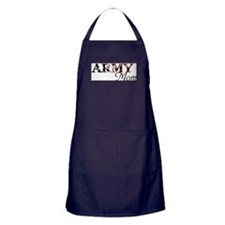 Mom Army_flag .png Apron (dark)