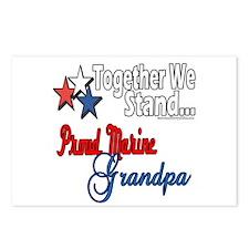 Marine Grandpa Postcards (Package of 8)