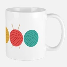 Yarn Balls Knitting Mugs