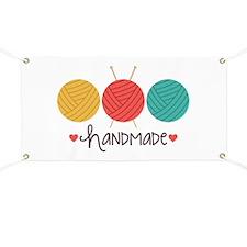 Handmade Knitting Banner