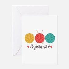 Handmade Knitting Greeting Cards