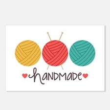 Handmade Knitting Postcards (Package of 8)