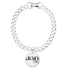 Mom Army_flag .png Charm Bracelet, One Charm