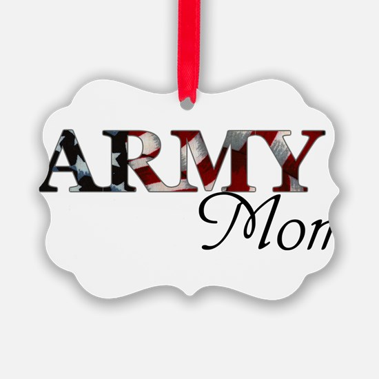 Mom Army_flag .png Ornament