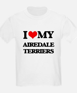 I love my Airedale Terriers T-Shirt