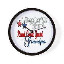 Coast Guard Grandpa Wall Clock