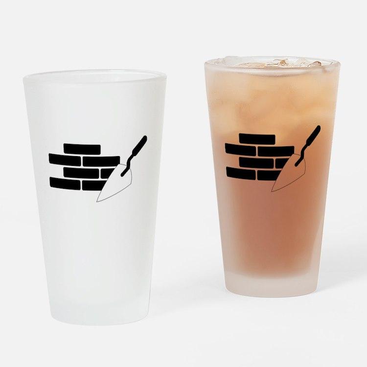 Mason Drinking Glass