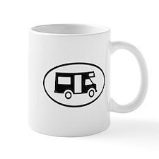 Camper Oval Design Mugs
