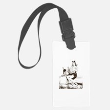 Vintage Pin-Up Luggage Tag