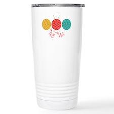 Yarn Balls Knit Wit Travel Mug