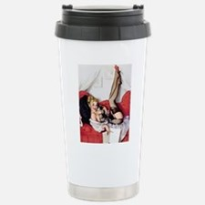 Vintage Pin-Up Stainless Steel Travel Mug