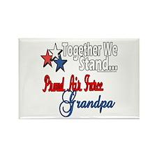 Air Force Grandpa Rectangle Magnet