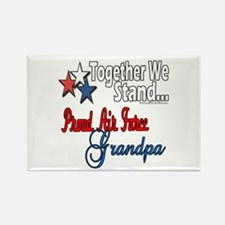 Air Force Grandpa Rectangle Magnet