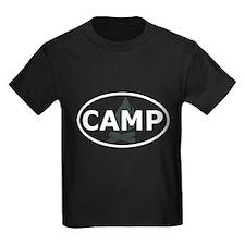 Camp Oval Design T-Shirt