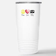 Peace, Love, RVing Travel Mug