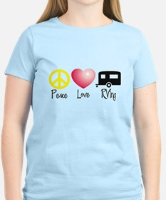 Peace, Love, RVing T-Shirt