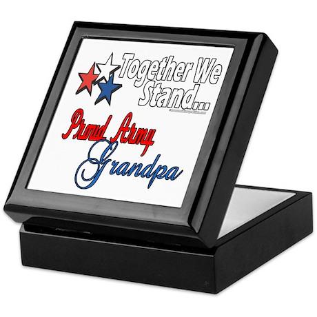 Army Grandpa Keepsake Box