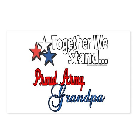 Army Grandpa Postcards (Package of 8)