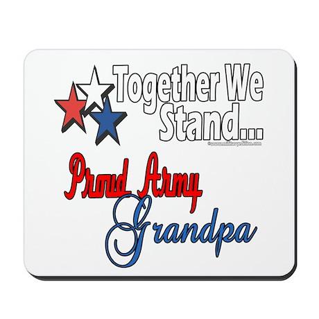 Army Grandpa Mousepad