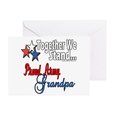 Army Grandpa Greeting Cards (Pk of 10)