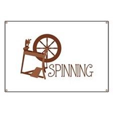 Spinning Wheel Banner