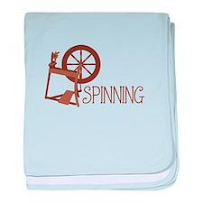 Spinning Wheel baby blanket