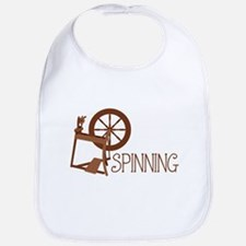 Spinning Wheel Bib