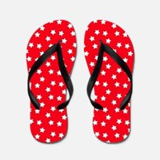 Unique 4th of july birthday Flip Flops