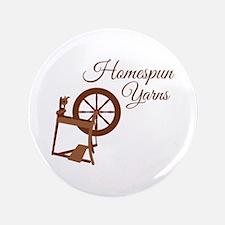 """Homespun Yarns 3.5"""" Button"""