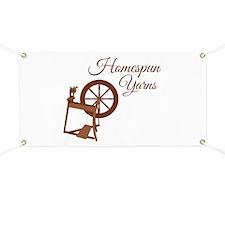 Homespun Yarns Banner