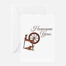 Homespun Yarns Greeting Cards