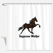 Tennessee Walker Shower Curtain