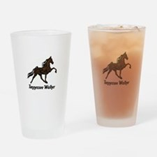 Tennessee Walker Drinking Glass