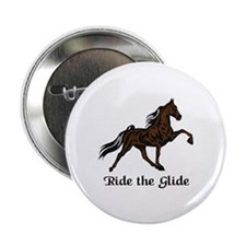 "Ride The Glide 2.25"" Button (10 pack)"