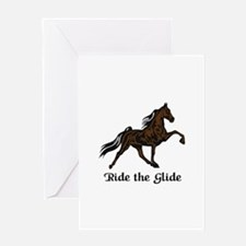Ride The Glide Greeting Cards