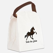 Ride The Glide Canvas Lunch Bag