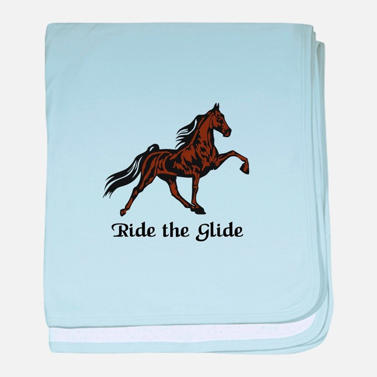 Ride The Glide baby blanket