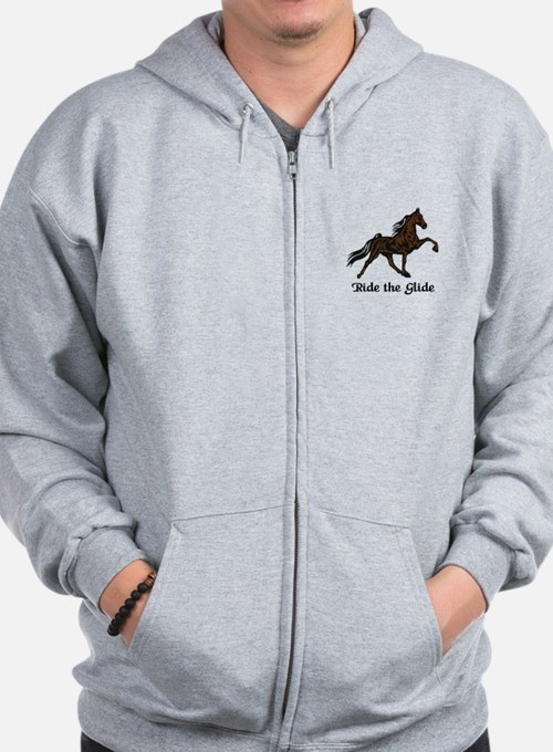 Ride The Glide Zip Hoodie