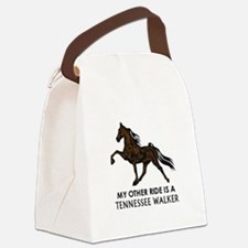 Ride Is A Tennessee Walker Canvas Lunch Bag