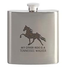 Ride Is A Tennessee Walker Flask