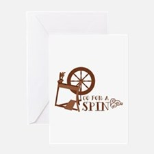 Go for a Spin Greeting Cards