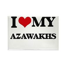 I love my Azawakhs Magnets