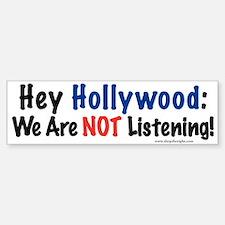 Hey Hollywood BumperCar Car Sticker