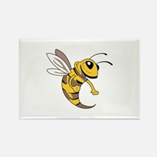 YELLOW JACKET MASCOT Magnets