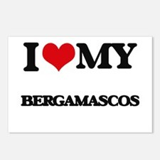 I love my Bergamascos Postcards (Package of 8)