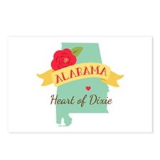 Heart of Dixie Postcards (Package of 8)