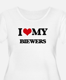 I love my Biewers Plus Size T-Shirt