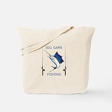 Big Game Fishing Tote Bag